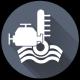 Controllo livello temperatura acqua motore endotermico