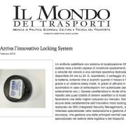 mondo trasporti ism locking system
