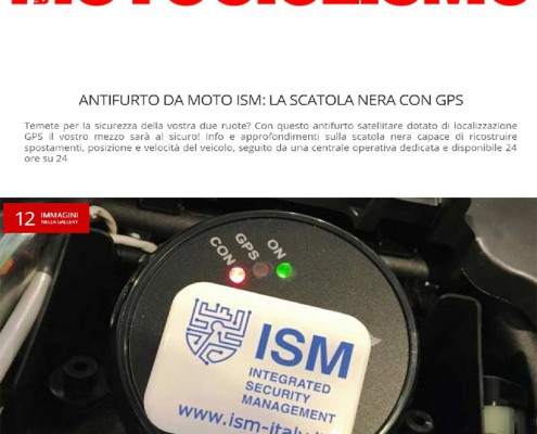 Antifurto satellitare Motociclo
